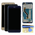 Full For Huawei P10 Lite Display LCD Touch Digitizer Glass Assembly+Frame+Tool