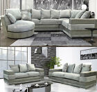 Zara Corner Sofa ✅ Silver/Grey ✅ Beige/Cream & 3 + 2 Seater Sofa Quality Fabric