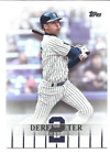 2018 Topps Derek Jeter Highlights Base & Blue Parallel You pick Free ship 2 Plus