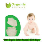 40 lb baby - 100% Organic Cotton Fitted Diaper ( 2 pack + 2 Organic Liners )|Organic Textiles