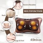 Car Home Shiatsu Neck Relaxation Electric Kneading Pillow Cushion Massager  NL