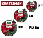 "Craftsman 5/8"" x 50 75 100 ft. Heavy Duty Premium Garden Hos"