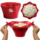 Microwave Silicone Magic Household Popcorn Maker Container Healthy Cook Tools AA cheap