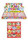 CHILDRENS ANIMAL STICKER SHEETS PARTY BAG FILLERS FAVOURS BOYS GIRLS STICKERS