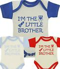 BabyPrem Baby Clothes Boys Girls NEW BROTHER Vest Creeper Present Slogan Gifts