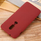 For OnePlus 6T 6 5 5T 3 3T Matte Case Soft Silicone TPU Gel Sandstone Cover