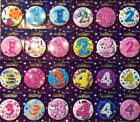 BIRTHDAY BADGE 1st 2nd 3rd 4th 5th ,boys,girls.bright colourful,simon elvin