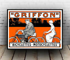Griffon cycles : Vintage Cycle Ad , poster, Wall art, poster, reproduction.