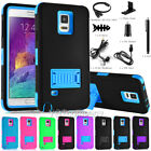 samsung note 4 accessories - For Samsung Galaxy Note 4 Shockproof Armor Hybrid Phone Case with Accessories