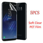 5PCS Full Cover Curved Soft Screen Protector For Samsung Galaxy S7 Edge S8 S9 + <br/> ✔USA Fast Shipping✔Top Seller✔Best Service