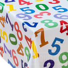Numbers Kids Childrens Novelty Fun Wipe Clean PVC Tablecloth Table Cover Vinyl
