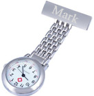 Personalised Engraved Chrome Nurse / Carers Fob Watch - FREE P&P