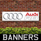 Audi R8 PVC Banner Garage Workshop Showroom Advertising Signs (BANPN00203)