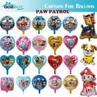 Cartoon Paw Patrol Chase Marshall Rubble Foil Helium Balloon Party Decoration