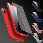 Luxury Full Protector Shockproof Armor Tempered Glass Case For Apple iPhone X 10