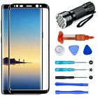 For Samsung Galaxy Note 8 Face Touch Screen Glass Lens Replacement Tool UV Glue