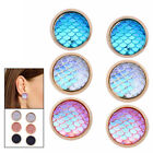 New Colorful Elegant Gold Plated 0.55inch Plated Lady Vintage Ear Stud Earrings