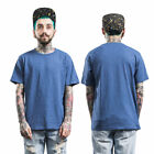 FORGIVENESS Summer Round Neck Solid Color Casual Men Cotton T-Shirt Tops GT