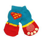 Dog Socks - Super Hero Winter Dog Socks - Pk 4 - RichPaw - Non Slip S to XL