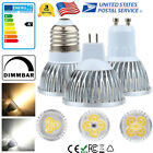 Dimmable GU10 MR16 E27 9W 12W 15W LED Spot Spotlight Light Home Down Lamp Bulb