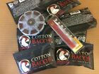 COTTON BACON 2.0 VERSION W/ TWEEZERS & COILS For Vaping US SELLER FREE SHIPPING