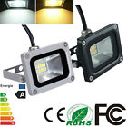 10W SMD LED Floodlight IP65 Super Bright Cool & Warm White Outdoor Garden Lights