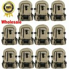 LOT Men Women Vintage Canvas Backpack Rucksack School Satchel Travel Hiking Bag