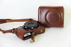 New Retro PU Leather Camera Case Bag For Canon G7XII G7X II G7X Mark II