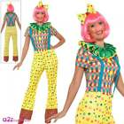 Womens Sexy Giggles The Clown Adult Circus Halloween Ladies Fancy Dress Costume