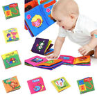 US Baby's First Non-Toxic Soft Fabric Cloth Book Colorful,Squeak candy
