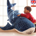 Stuffed Plush Animals Blue Shark Plush Toys Big Fish Cloth Doll Whale Kids Gift