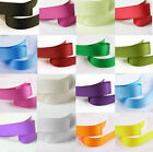 20 Mtr's Of 10mm Grosgrain Ribbon Hair Bow DIY Sewing Pick colour ab