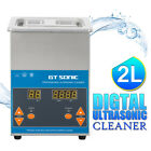 Digital Stainless Ultrasonic Cleaner Ultra Sonic Bath Cleaning Timer Tank Heat A