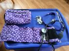 Prestige Sphygmomanometer and Stethoscope Kit, Purple Cuff With Zippered Case Ad