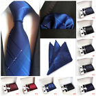 Gift Box Mens Novelty Tie Handkerchief Set Jacquard Necktie Contains 6 pieces