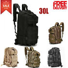Large Military Tactical Backpack 3 Day Pack Army Assault Molle Gear Bug Out Bag