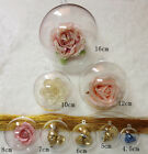 10PCS Christmas Clear Fillable Ball Baubles Wedding Xmas Tree Decor Ornament HX