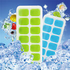 Silicone 2Pack  Ice Cube Trays with Removable Lids 28 Cubes Tray Molds U.S.A