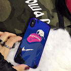 Blue Light Shark Supreme Case For iPhone X 6 6s 8 7 Plus Soft Silicon Cover Thin