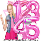 "Внешний вид - 40"" 30"" JOJO SIWA UNICORNS FOIL NUMBERS LETTERS BIRTHDAY PARTY BALLOONS PRINCESS"