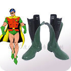 New! Batman & Robin  cosplay shoes Boots Custom Made