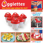 2018 Hot DIY Egglettes Egg Cooker Hard Boiled Eggs without the Shell 6 Egg Cups