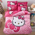 Home Textiles Hello Kitty cartoon style bedding set cover bed Girls Kids 2018