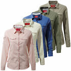 Craghoppers Nosilife Insect Repellent Adventure Womens Long Sleeved Shirt