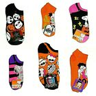Women's Halloween Socks Jack Skellington Villains Monster High Betty Boop NWT $8.99 USD on eBay