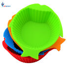 4 Colors Flexible Silicone Pet Feeding Bowl Healthy Cat Dog Silicone Food Bowls