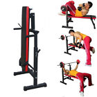 Adjustable Sit Up Weight Bench AB Incline Abs Flat Fly Weight Press Gym Red