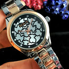 New Luxury Women's Dress Stainless Steel Quartz WristWatch Bear Watches image