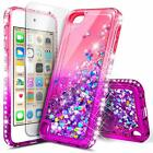 For iPod Touch 5th 6th Gen Case   Glitter Liquid Bling Cover + Screen Protector