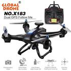 Global Drone X183 Drone Quadcopter Rc Helicopter Toy Remote Control Toy can carr